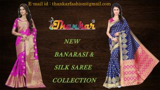New Collection Of Silk & Banarasi Saree