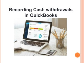 Recording Cash withdrawals in QuickBooks
