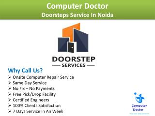 Best Laptop Repair Home Service In Noida UP - Computer Dr.
