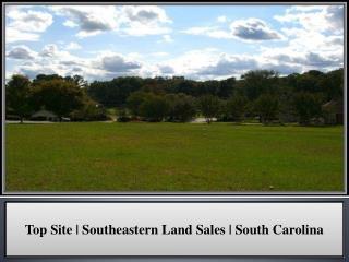 Top Site   Southeastern Land Sales   South Carolina