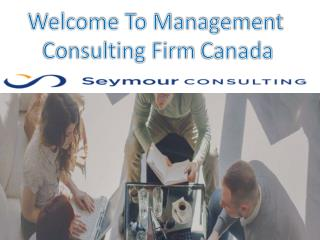 Management consulting Firm Canada