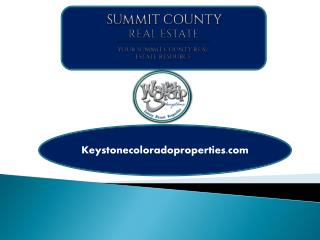 Luxurious Keystone, Colorado Real Estate Properties for Sale