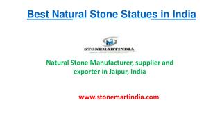 Best Natural Stone Statues in India