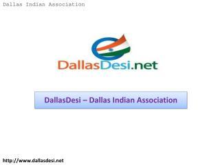 DallasDesi – Dallas Indian Association