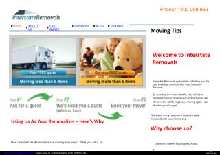 Cheap Furniture Removals  in Australia.