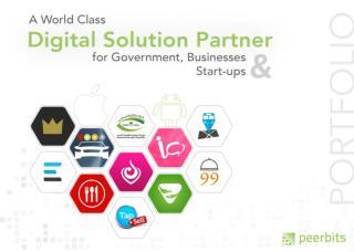 A world ClassDigital Solution Partner for Government,Businesses & Start- ups