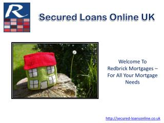 Secured Homeowner Loans | Homeowner Loans For Poor Credit