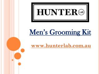 Men's Grooming Kit - hunterlab.com.au