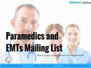 Paramedics and EMTs Mailing List