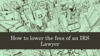 Gordon Law Ltd | An IRS lawyer can help you out with all parts of your taxes