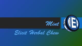 Elicit Mint Herbal Chew