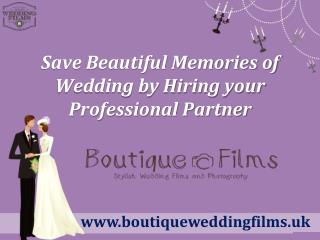 Wedding Videographers in Essex