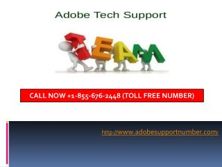 Adobe Setup 2017, Adobe Support