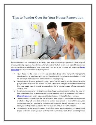 Tips to Ponder Over for Roof Restoration