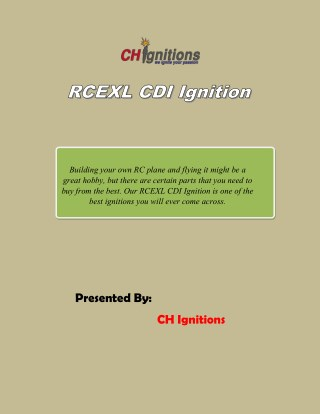 RCEXL CDI Ignition