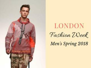 London Fashion Week Men's Spring 2018
