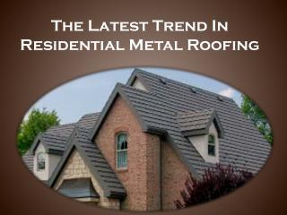 Energy Efficient Metal Roof | Alpha Rain