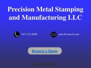 Custom Small Metal Stamping