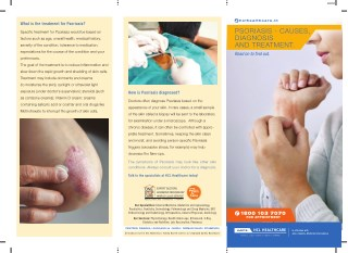 Psoriasis - Diagnosis & Treatment at HCL Healthcare