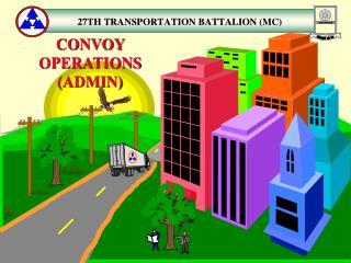 CONVOY OPERATIONS ADMIN