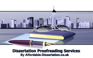 Dissertation Proofreading Services by Affordable Dissertation UK