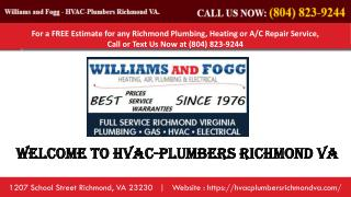 HVAC Repair Richmond VA | HVAC Richmond VA