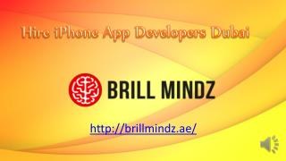 iPhone app development companies Dubai