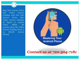 Smart Phones Archives - Online Training