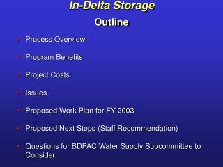 In-Delta Storage