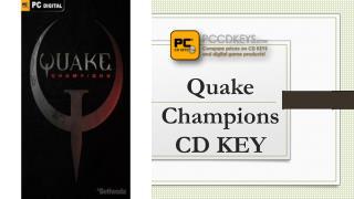 Quake Champions CD KEY