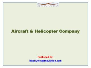 Western Aviation-Aircraft & Helicopter Company