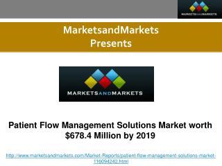 Patient Flow Management Solutions Market