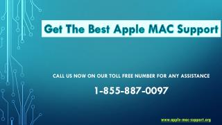 Get the best Apple Mac Support at 1-855-887-0097