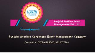 Corporate events business meetings management company