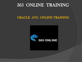Interactive and Career Oriented Oracle ATG Commerce Online