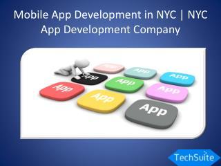 Mobile App Development NYC