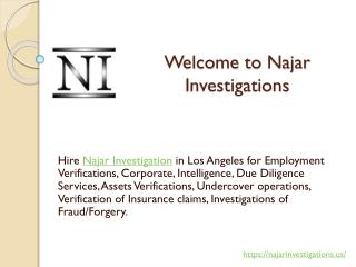 The Patrolling and Investigation Services Los Angeles