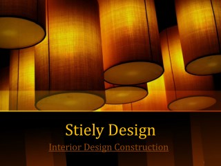 Interior Design Firms Perth - Stielydesign.com
