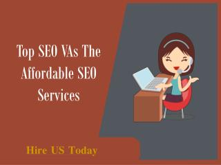 Top SEO VAs The Affordable SEO Services
