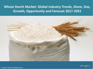 Wheat Starch Market Trends, Share, Size, Research Report and Forecast 2017-2022