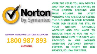 How to Remove Old (Expired) Devices from Norton Account- By Norton Tech Support Team