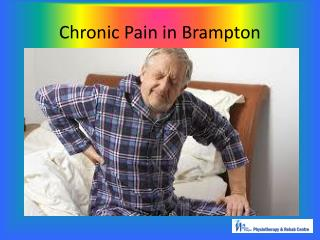 Chronic pain in Brampton