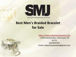 Best Men's Braided Bracelets for Sale
