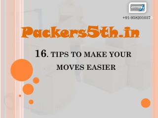 Packers5th.in Top 16 tips for better moves