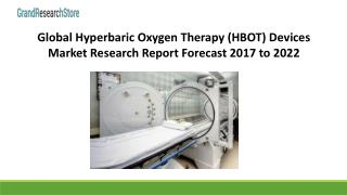 Global Hyperbaric Oxygen Therapy (HBOT) Devices Market Research Report Forecast 2017 to 2022