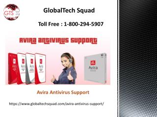 Avira Tech Issues Support Dial: 1-800-294-5907