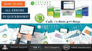 How to fix all errors in quickbooks