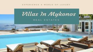 Villa in Mykonos - Mykonosvillas Rentals