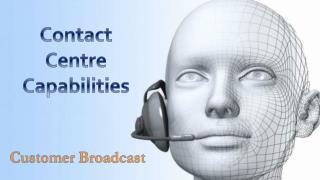 Contact center capabilities v1