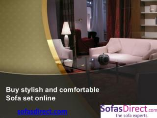 Sofas, High Quality Stylish Sofas Online | Sofasdirect.com